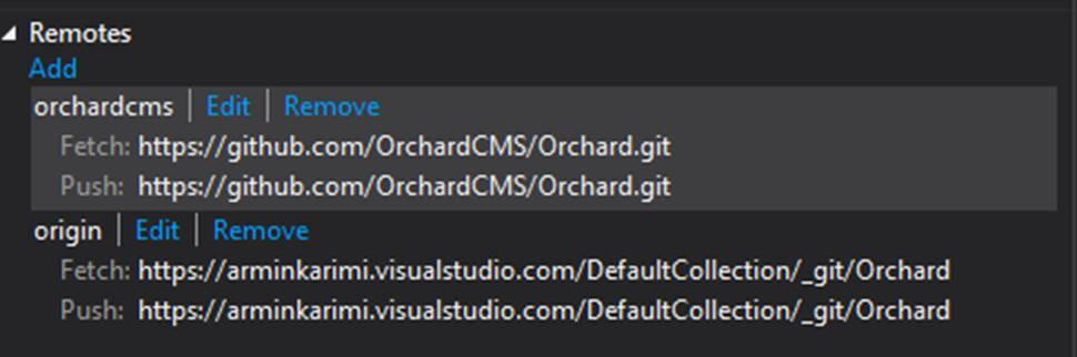 Forking GitHub Repositories on Visual Studio Online Team